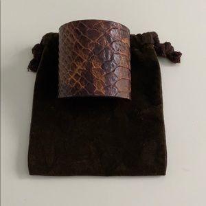 Michael Kors Leather Cuff/Bracelet